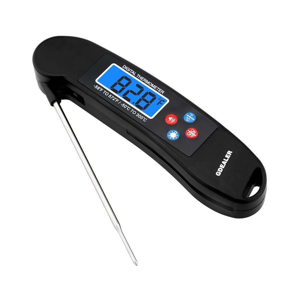 GDEALER Talking Instant Read  Digital Meat Thermometer