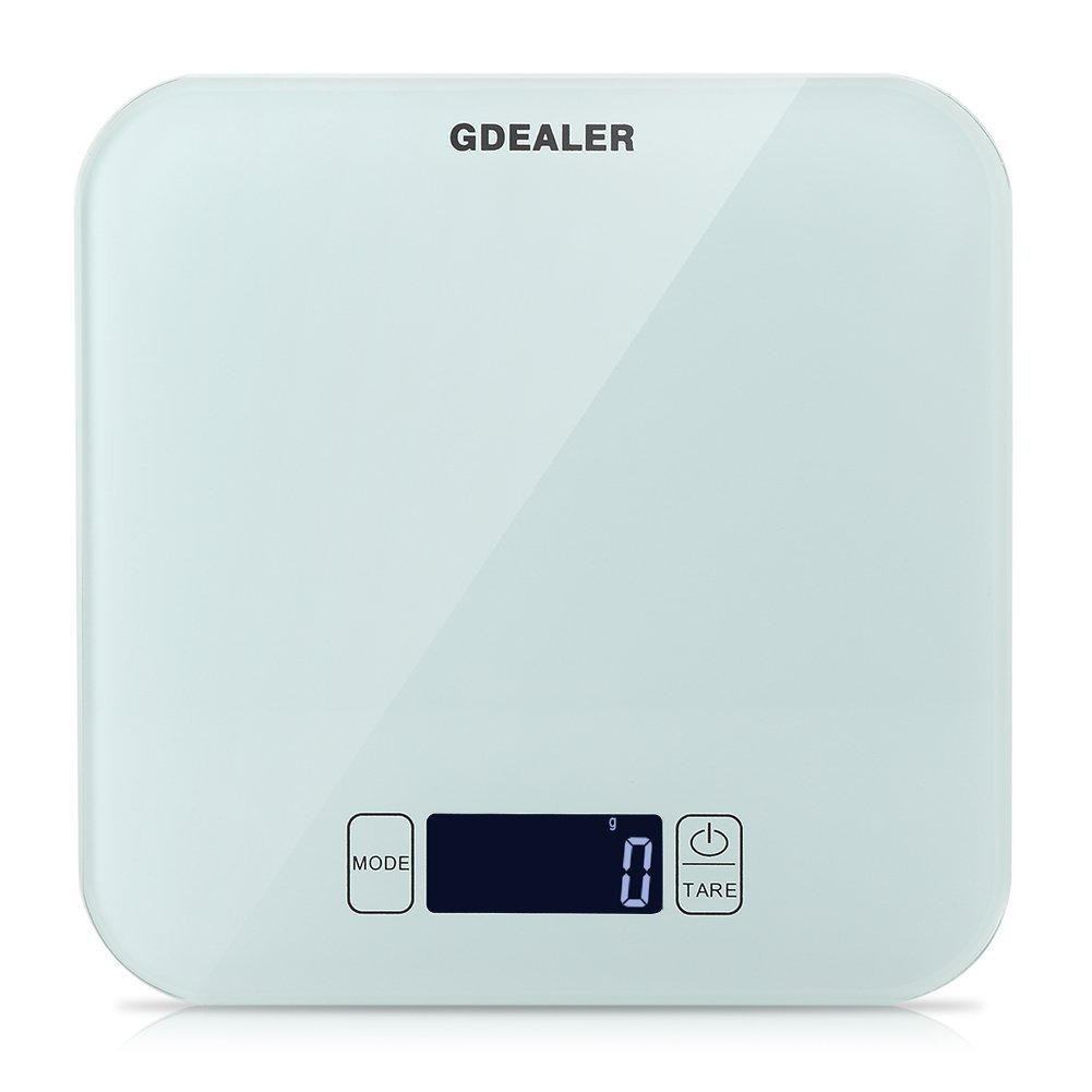 GDEALER 22lb/10kg Digital Kitchen Food Scale